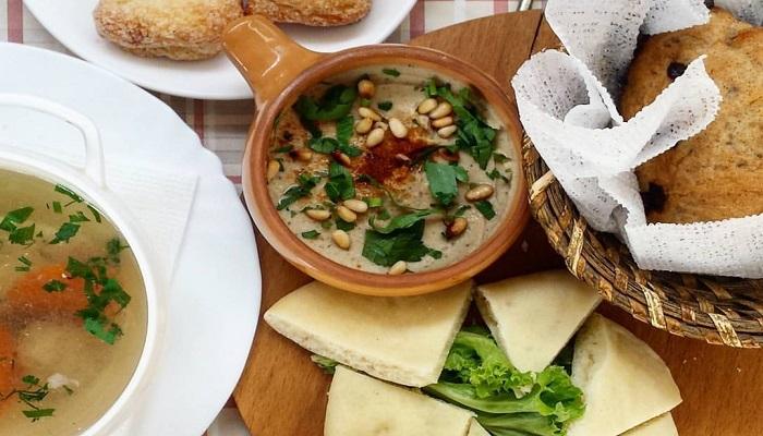 Обед в кафе Йоськин кот в Евпатории