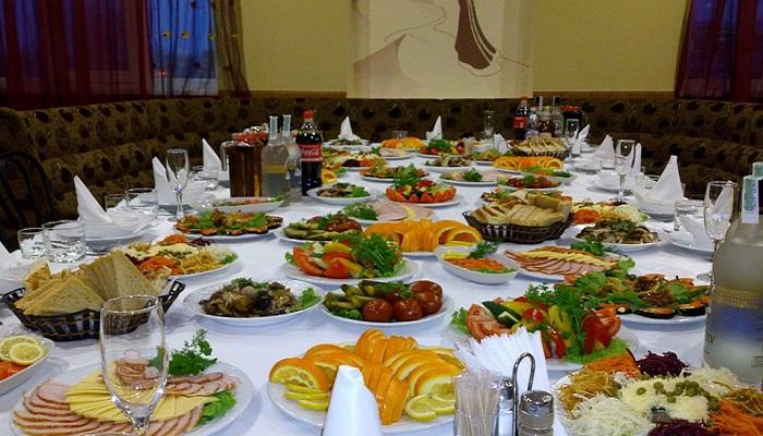Фото Банкет в ресторане Караван Сарай Саки