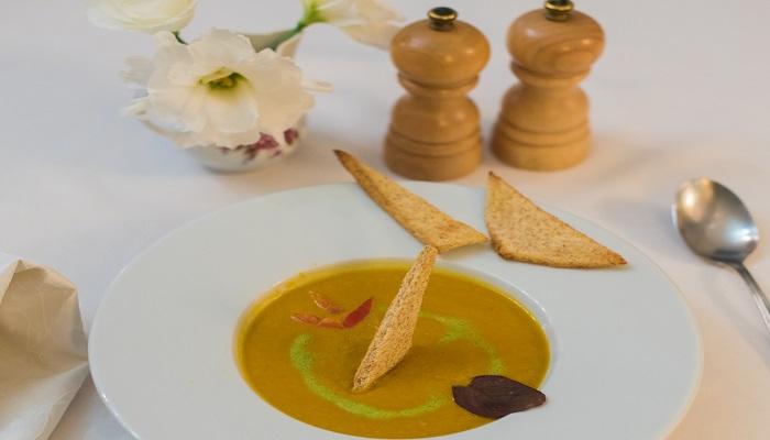 Суп в кафе Ludwigsburg Евпатория