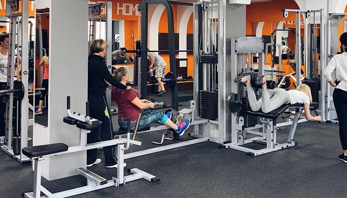 Тренировка в Sportfit Евпатория