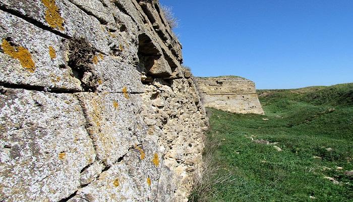 Фото Крепость на Азовском море в Крыму