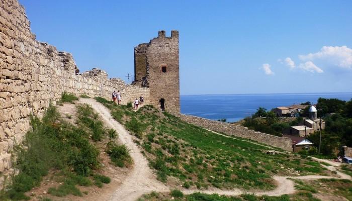 Генуэзская крепость Кафа