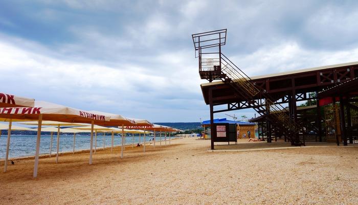 Фото Пляж Баунти Феодосия
