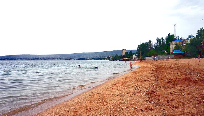 Фото  Пляж Динамо в городе Феодосия