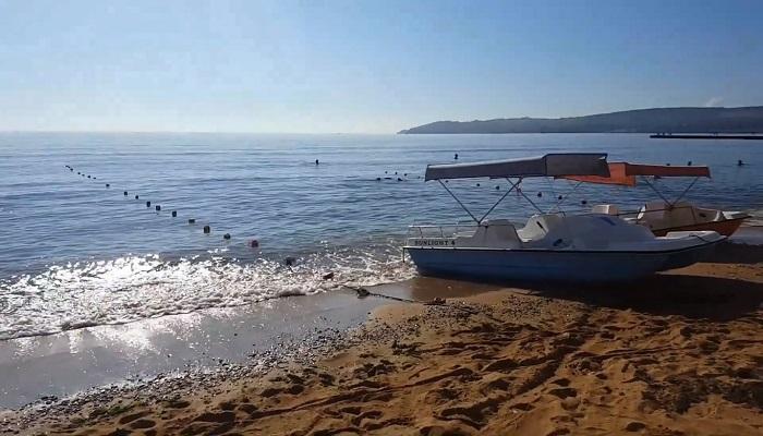 Фото Пляж Лазурный берег Феодосия