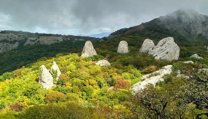 Скалы Тышлар Крым