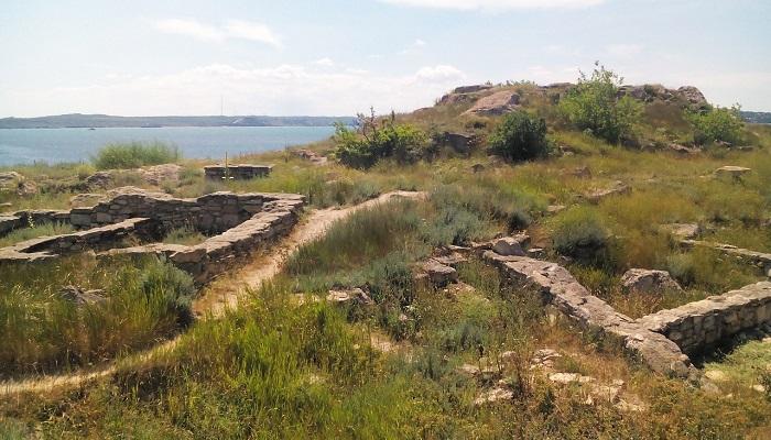 Фото Древний город Мирмекий в Керчи
