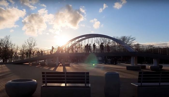 Крымский мост в миниатюре