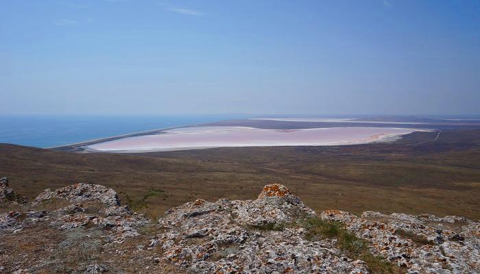 Фото Кояшское озеро в Крыму