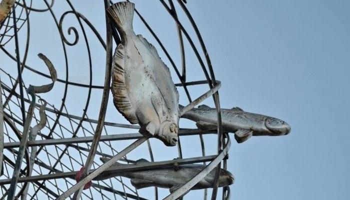 Скульптура Дары моря