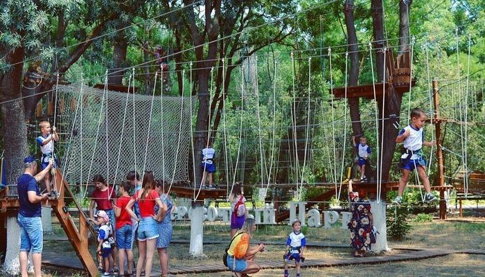 Веревочный парк в Керчи