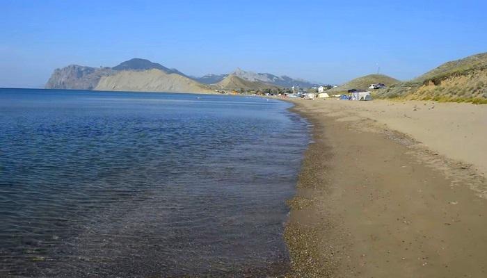 Фото Дикие пляжи Коктебеля