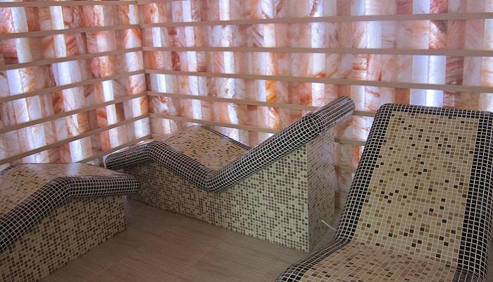 Соленная комната отеля Медведь Коктебель
