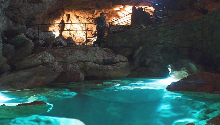 Фото Красные пещеры в Крыму