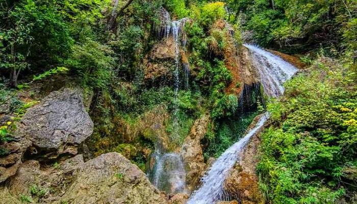 Фото Водопад Су-Учхан рядом с Красной пещерой