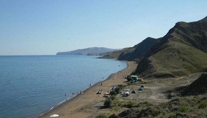 Фото Лисья бухта песчаный берег