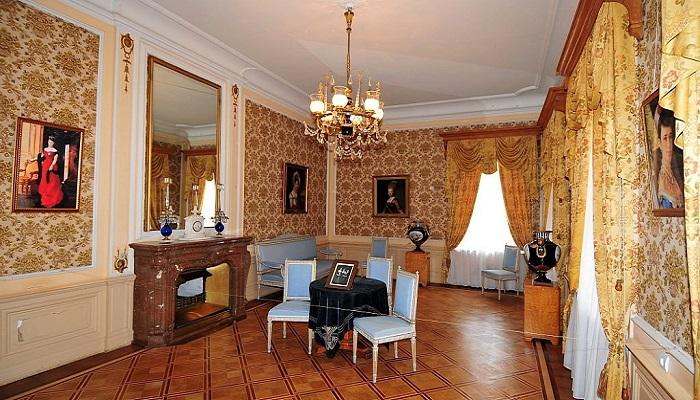 Фото Внутреннее убранство дворца Александра 3