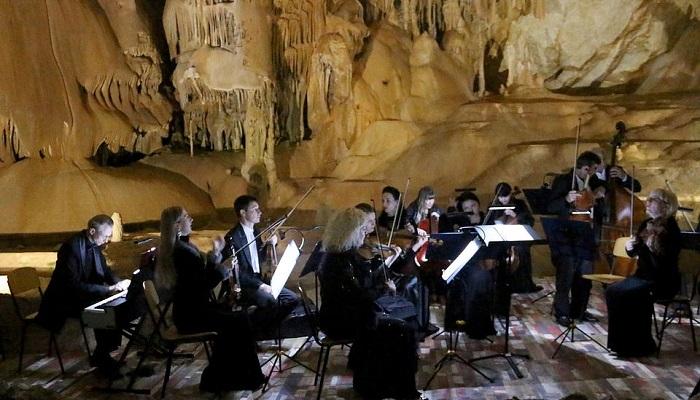 Фото Концерт в Мраморной пещере