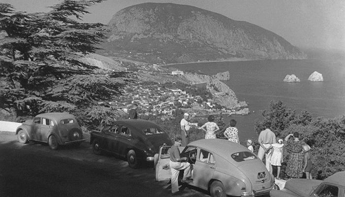 Старая фото скал Адалары