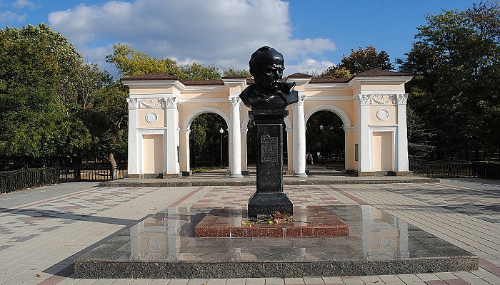 Фото Парк имени Тараса Шевченко Симферополь