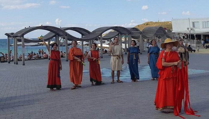 Фестиваль Античные истории в парке Ахматовой