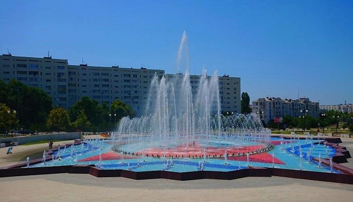 Фонтан в парке Победы Севастополь