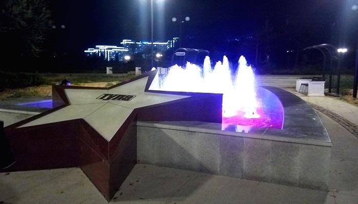 Фонтаны городов героев в Севастополе