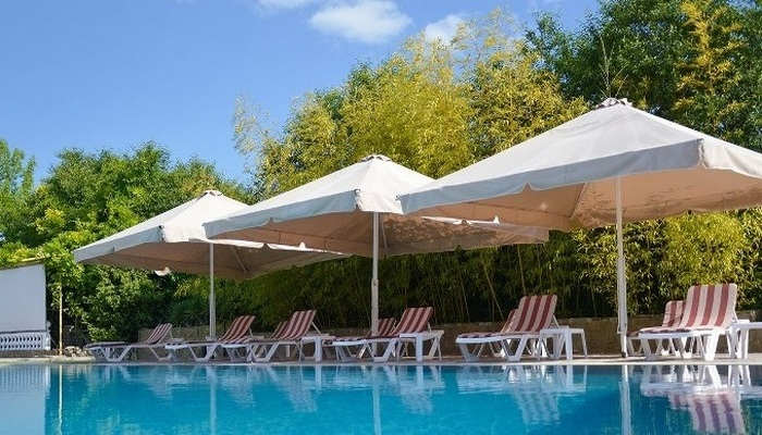 Гостиница с бассейном в Балаклаве
