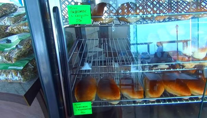 Монастырские пирожки в парке Фиолент