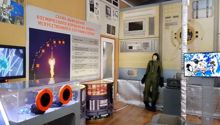 Музей космонавтики в детском парке Севастополя