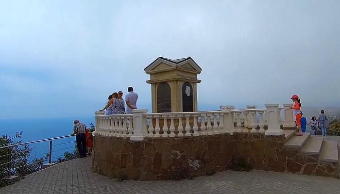 Памятник Пушкину в парке Фиолент