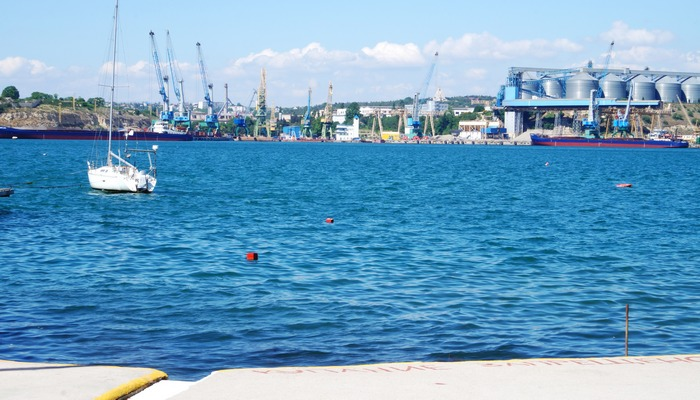 Фото Пляж Ушакова балка
