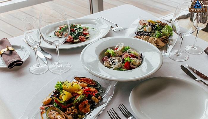 Фото Салаты в ресторане Абордаж Севастополь