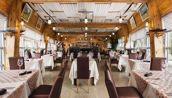 Фото Интерьер ресторана Абордаж в Севастополе