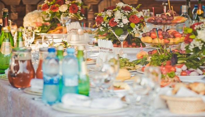 Фото Банкетный стол ресторана Сосновый бор Севастополь