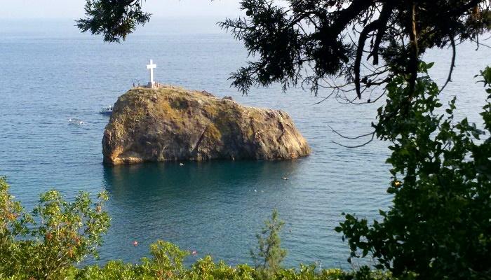 Скала Святого Георгия на Фиоленте