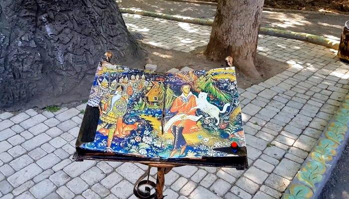 Сказки Пушкина в детском парке Севастополя