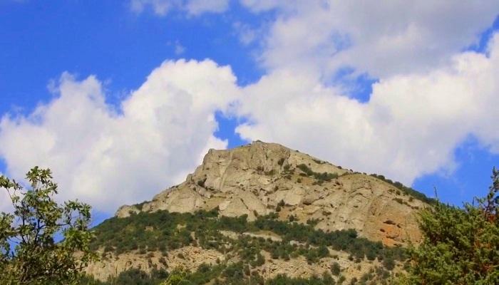 Фото Гора Манджил-Кая близ Судака
