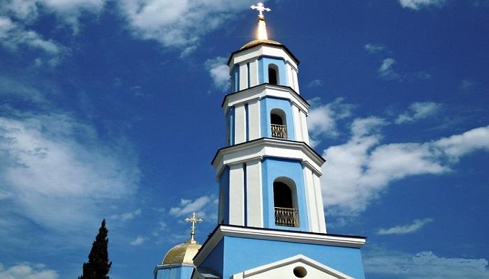 Фото Колокольня церкви