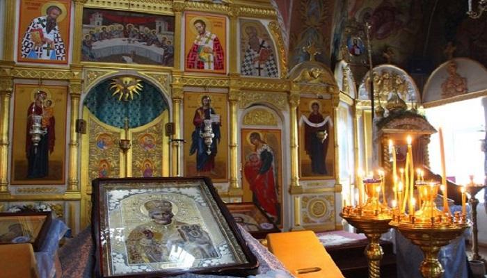 Фото Иконостас Свято-Покровского храма