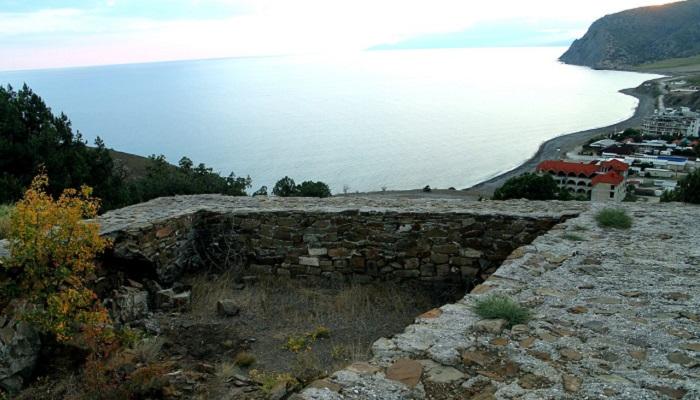 Фото Крепость Кутлак в Крыму