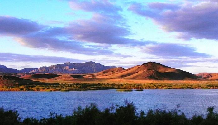 Озеро Бугаз близ городской округ Судак