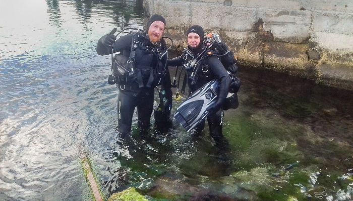 Погружение с аквалангом в Судаке