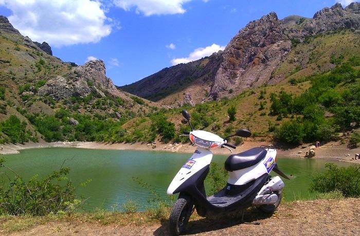 Прокат скутера в Крыму
