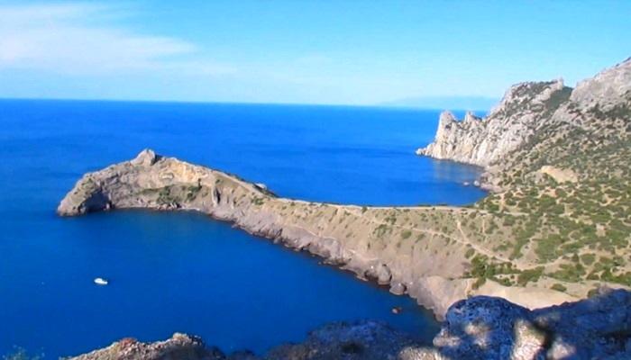 Фото Синяя и Голубая бухты Нового Света