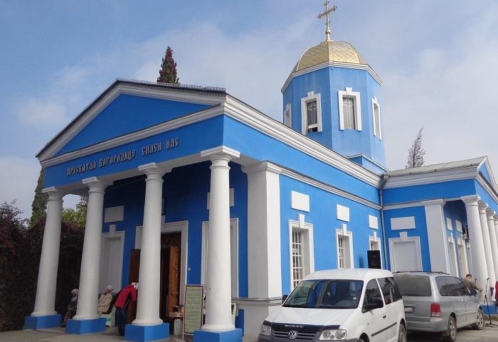 Фото Свято-Покровский храм в Судаке