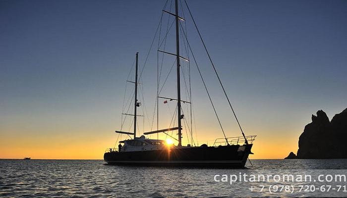 Аренда яхты в Балаклаве тур Романтика