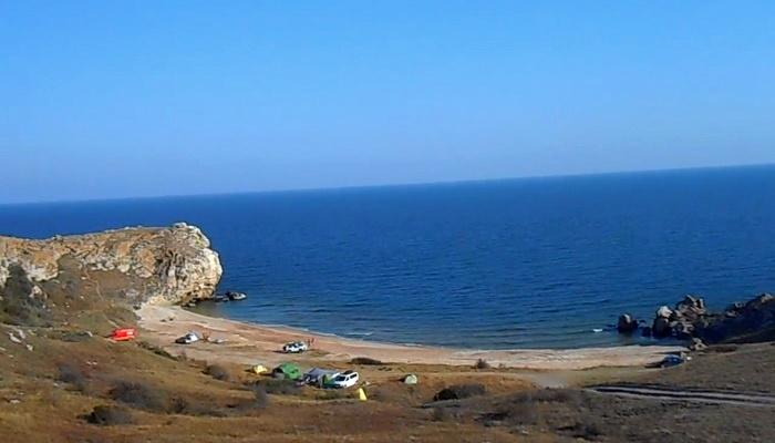 Бухта Куосовская Генеральские пляжи Крыма