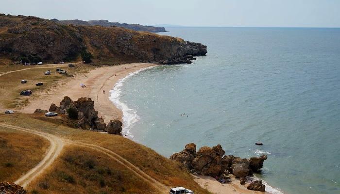 Бухта Шелковица Генеральские пляжи Крыма