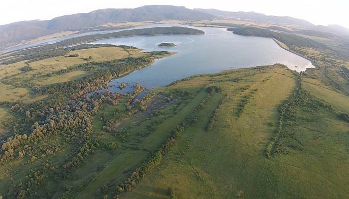 Фото Чернореченское водохранилище